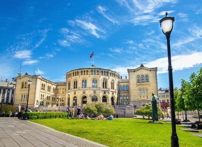 Oslo's Parliament Building
