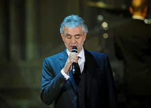 Andrea Bocelli's Summer Concert in Tuscany