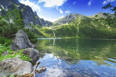 Morskie-Oko-Lake