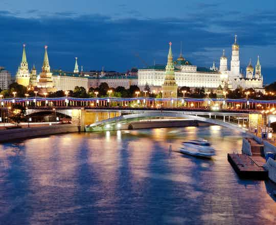 Moscow by Night Tour