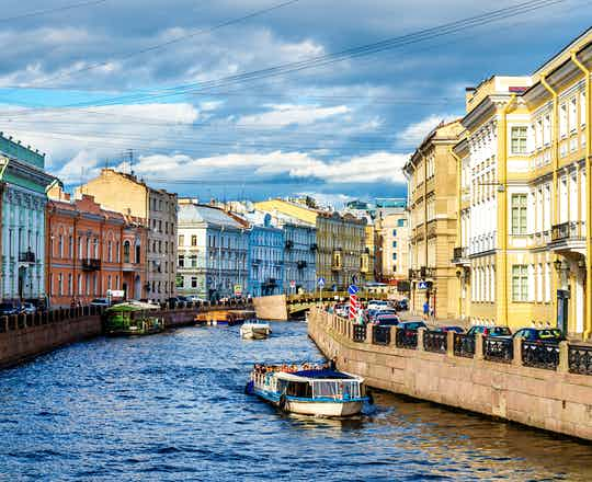 St. Petersburg boat cruise