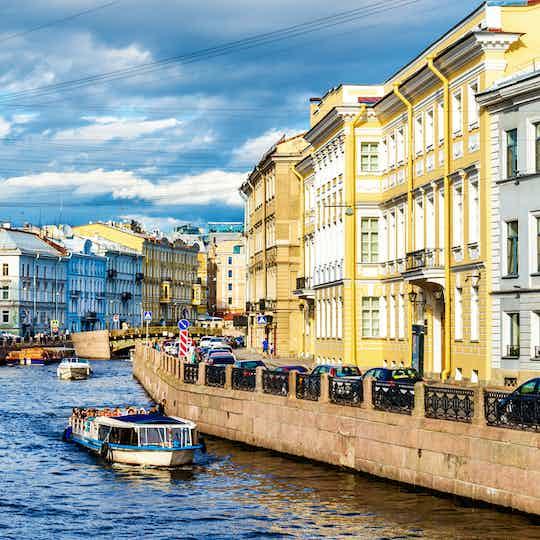 St. Petersburg boat cruise