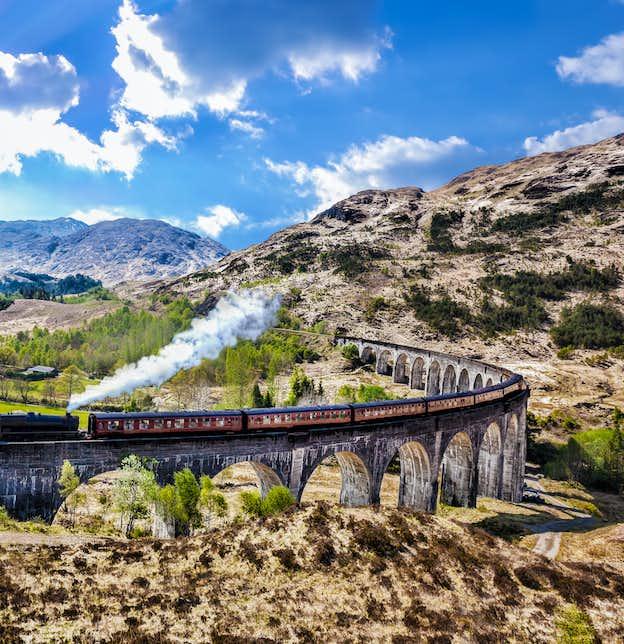 Great Highland Railways by Air
