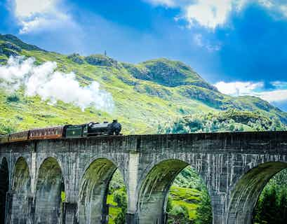 Great Highland Railways by Air