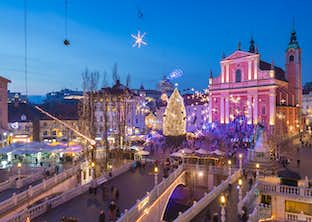 Ljubljana Christmas Markets by Air