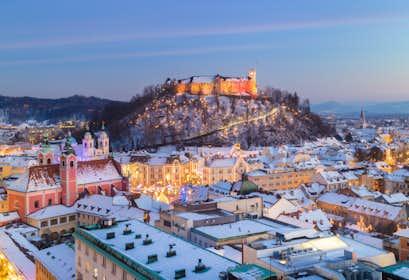 Ljubljana Christmas Markets by Air