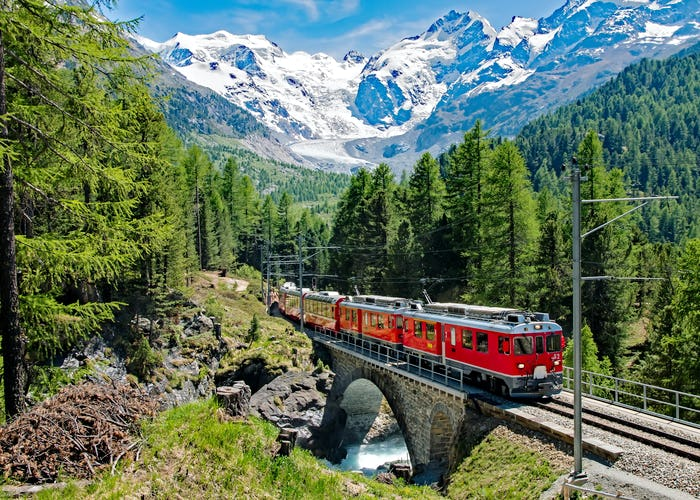 St. Moritz and Bernina Railway