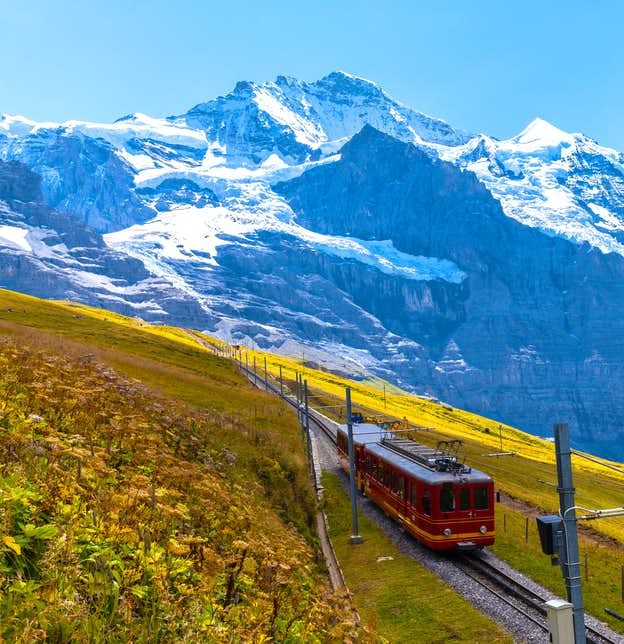 Christmas in Switzerland & the Jungfrau Railway