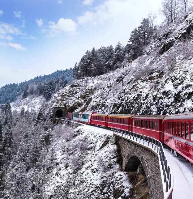 Four Countries New Year & the Swiss Glacier Express