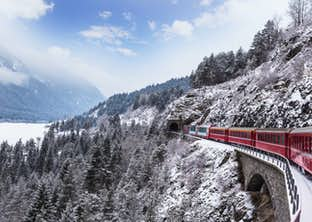 Four Countries Christmas & the Swiss Glacier Express