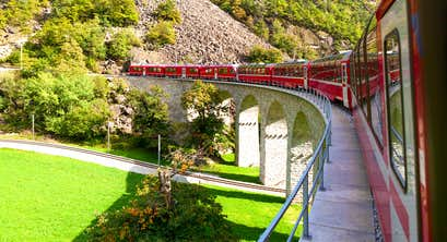 Summertime Alpine Highlights & Swiss Mountain Railways