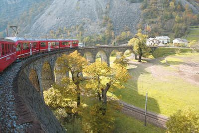 Bernina Region Railway
