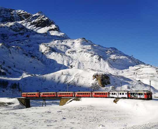 St Moritz & Bernina Region Railway