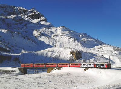 Bernina Region Railway