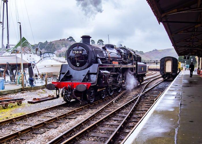 Steam Train & Boat Ride
