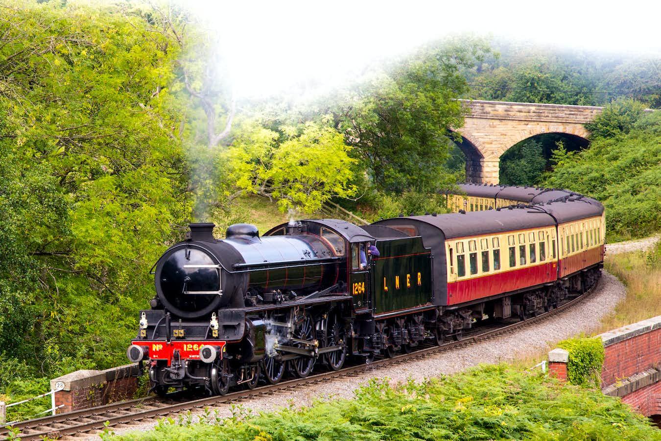 Yorkshire Coast Highlights and North York Moors Railway