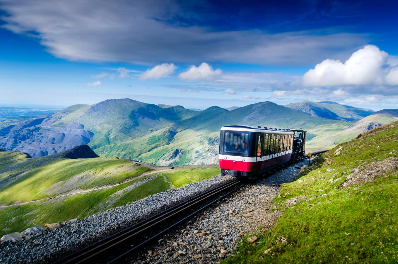 Snowdon Mountain Railway and Portmeirion
