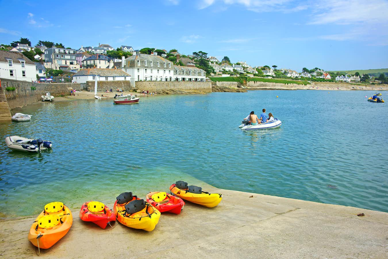 St. Mawes and Gardens of Cornwall