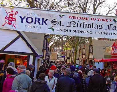 York Christmas Markets & Grassington Dickensian Festival