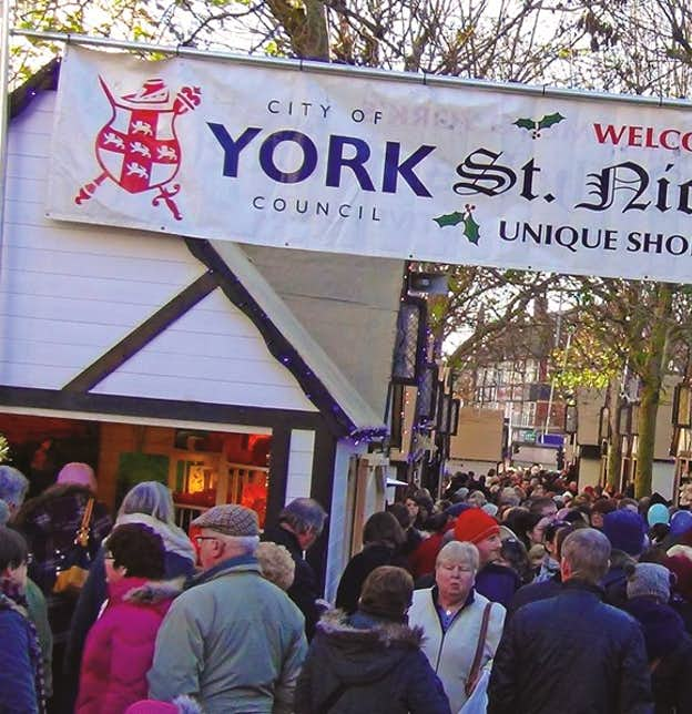 York Christmas Markets & Grassington Dickensian Festival