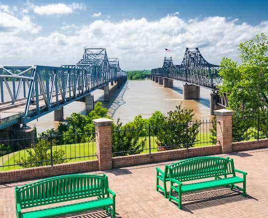 Mississippi River bridge, Vicksburg