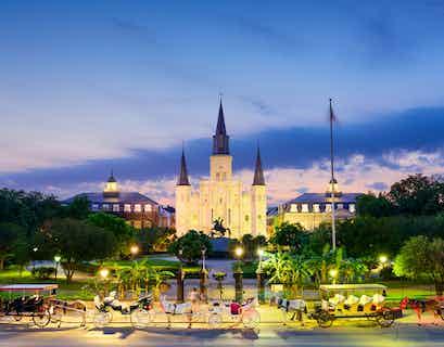 Mardi Gras in New Orleans plus Nashville & Elvis Presley's Memphis