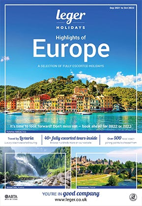 Order your FREE Leger Holidays brochure